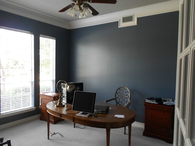 granite peak sw6250 dining room pinterest man office on good wall colors for office id=97841