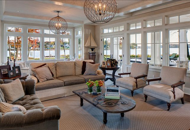 Coastl Living Room Living Room Design Light Fixtures Are