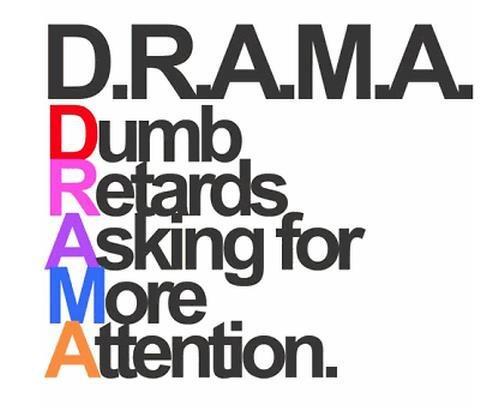 Image result for I hate drama