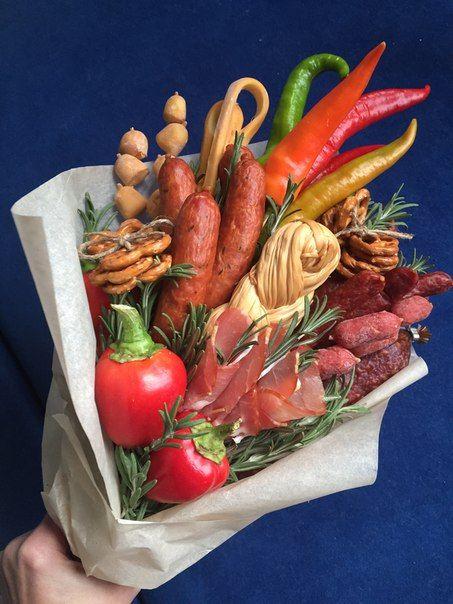 1000+ images about Букеты из овощей on Pinterest | Floral ...
