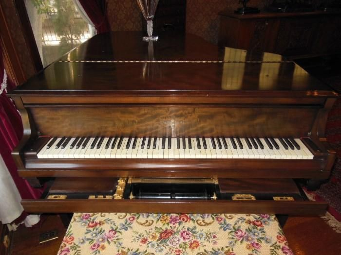 Found On Estatesales Net A 1927 Knabe Baby Grand