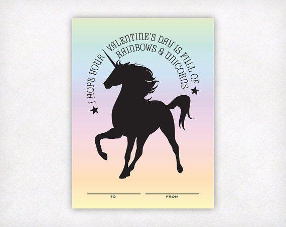 Best 25 Unicorn Valentine Cards Ideas On Pinterest