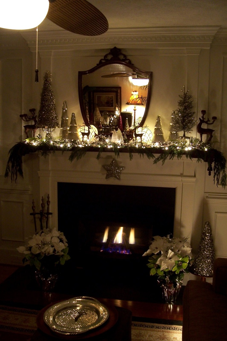 1000 Ideas About Christmas Mantel Decor On Pinterest Christmas Mantle Decorations Christmas