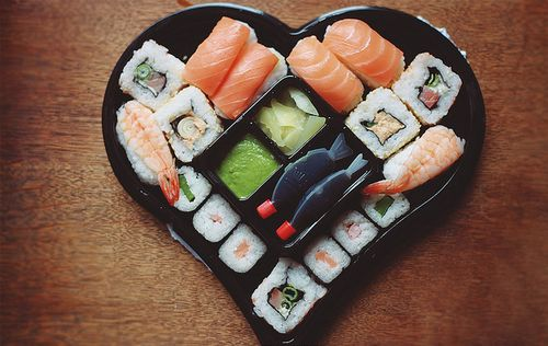 If I Dont Get A Heart Shaped Box Of Sushi For Valentines