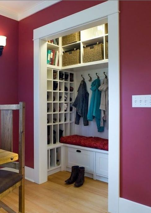 17 Best Images About Shallow Closet On Pinterest Entry