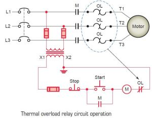 Thermal overload relay circuit operation | tech