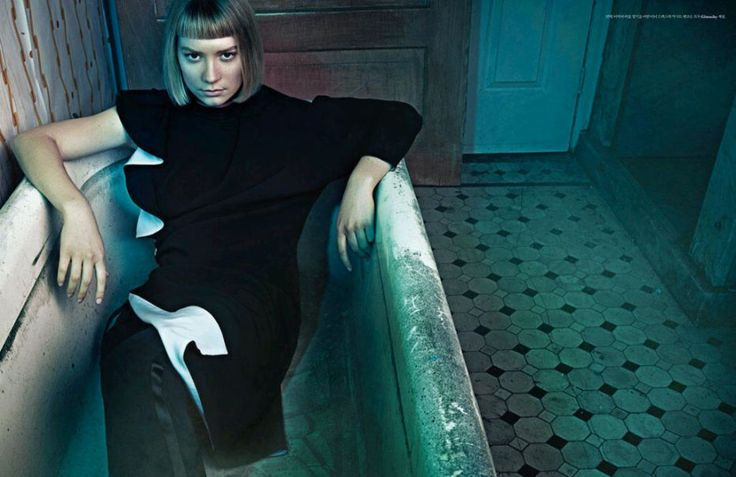 This Appears To Be From W Korea As Well Mia Wasikowska In