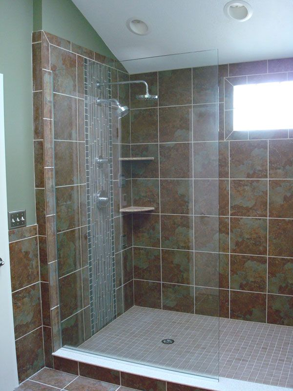 Walk In Showers Without Doors An Existing 3x3 Shower