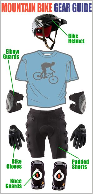 Image Result For Downhill Mountain Bike Gear