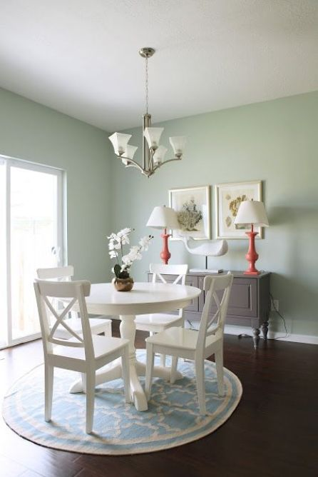 Palladian Blue Walls - Cresthaven Dining & Kitchen - House of Jade Interiors Blog