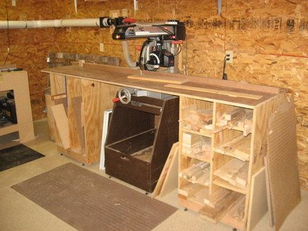 scrap lumber storage wood storage lumber storage on garage organization ideas that will save you space keeping things simple id=43446
