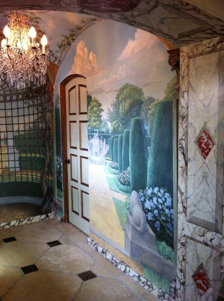 17 best images about murals garden courtyard on pinterest on wall murals id=70054
