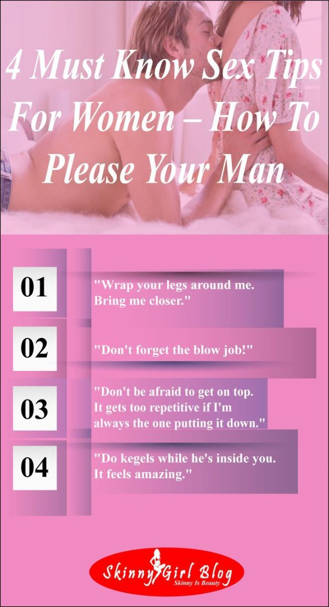 6 Must Know Tips For Women How To Please Your Man