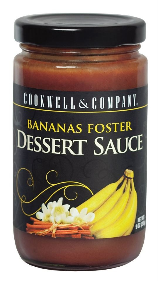 Bananas Foster Dessert Sauce From Cookwell And Company In