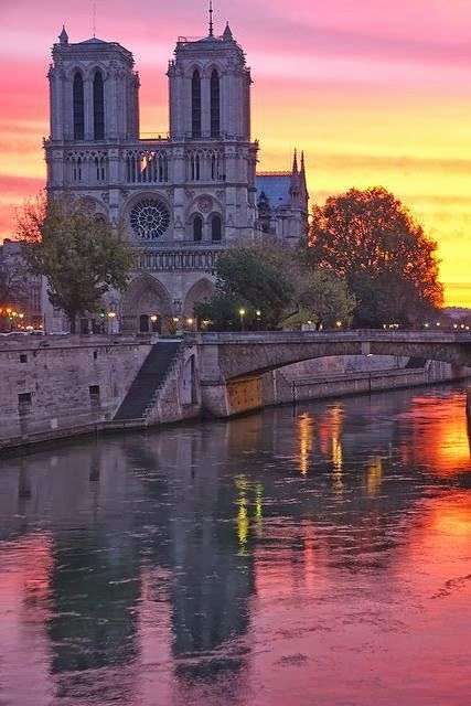 Notre Dame de Paris, favorite place in Paris