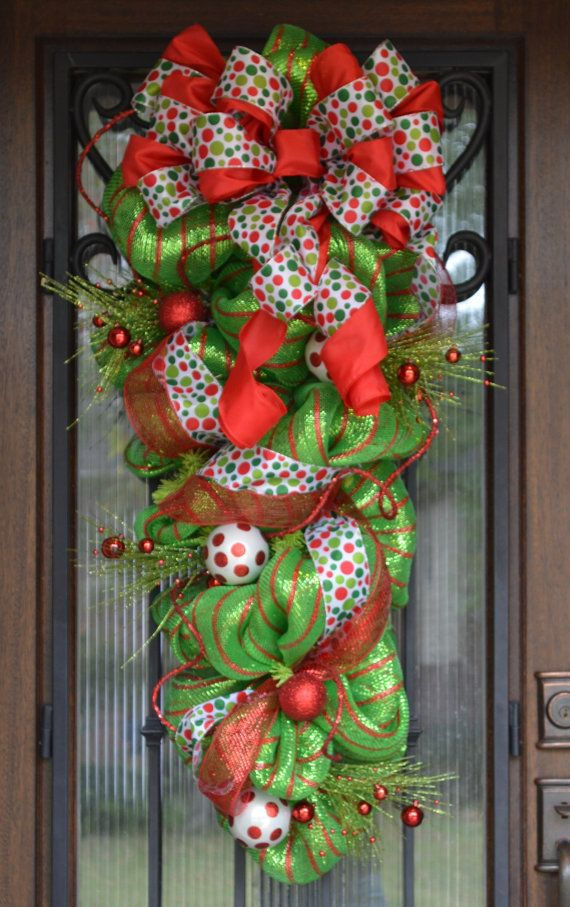 1288 Best Wreaths Bows Amp Decorating Ideas Images On Pinterest