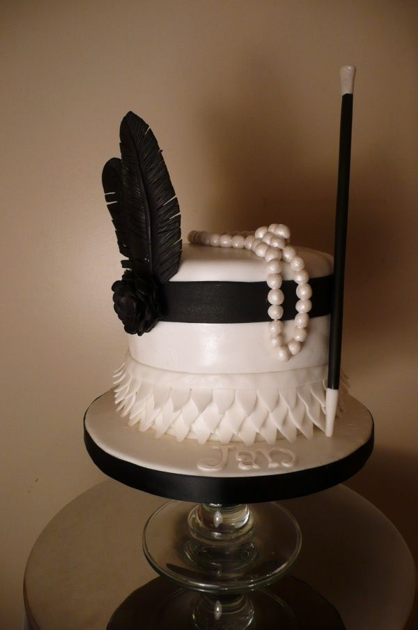 1920 S Themed Cake Party Ideas Pinterest Themed