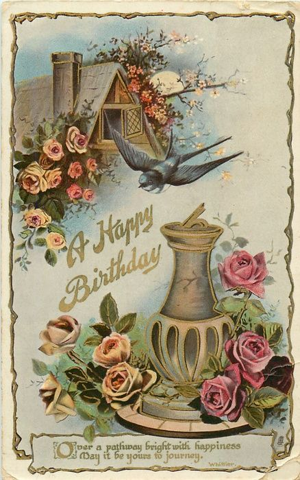 1000 Ideas About Happy Birthday Vintage On Pinterest Happy Birthday Birthday Greetings And Happy