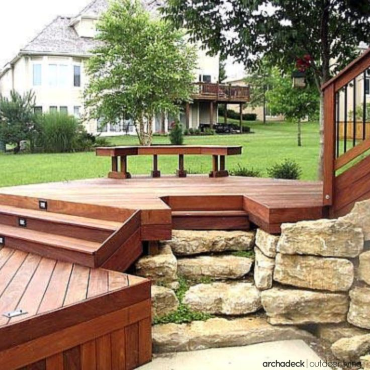 17 Best images about Deck steps, porch steps and other ... on Backyard Patio Steps id=62147