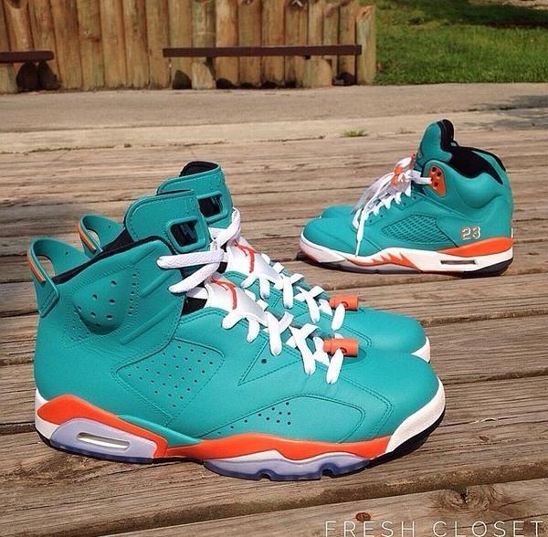 """Air Jordan 5 & 6 """"Miami Dol"""