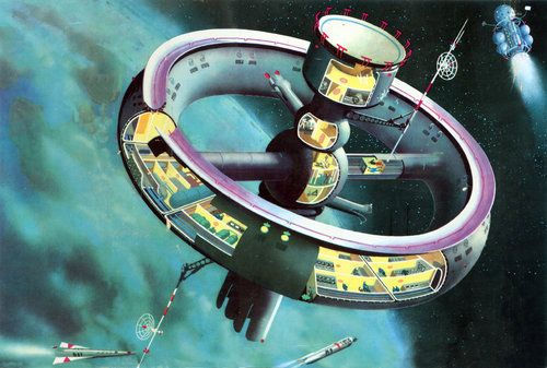 Future Space Station Designs | Torus Wheels: Iconic ...