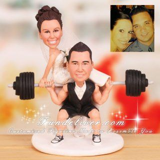 Bodybuilding Wedding Cake Toppers Cake Toppers