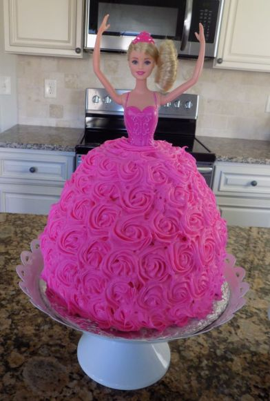 Image result for BARBIE cake