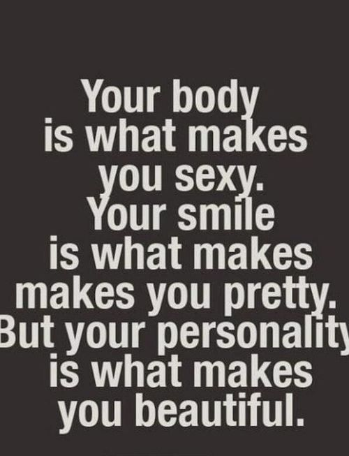 Love yourself and your body