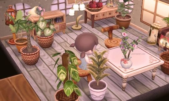 In Progress Dining Room ACNL House Goals Pinterest Dining Rooms House And Woods