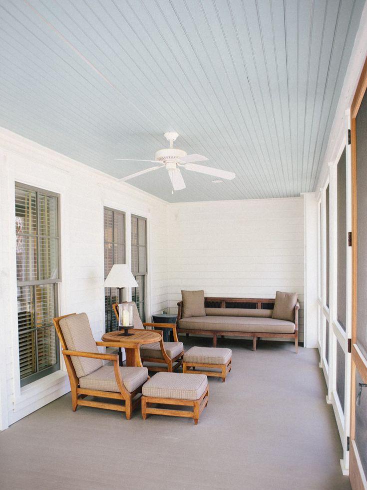 Haint Blue Porch Ceilings Sw 6471 Hazel Sw 6505