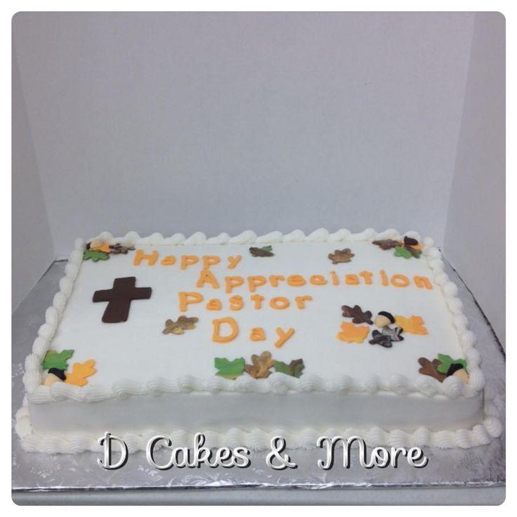 Pastor appreciation pastor appreciation pinterest cake