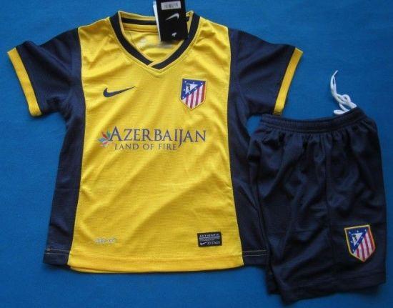 Atleti camiseta amarilla 17 18