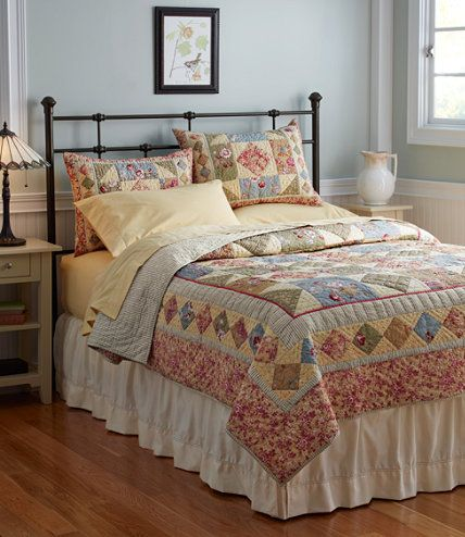 Timeless Floral Quilt Quilts Free Shipping At LLBean I Must Really Like It I Had Already