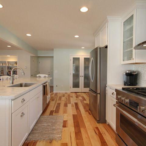 Grand Rapids 1970's Ranch Remodel   Home: Kitchen ... on Small:xmqi70Klvwi= Kitchen Renovation Ideas  id=99576