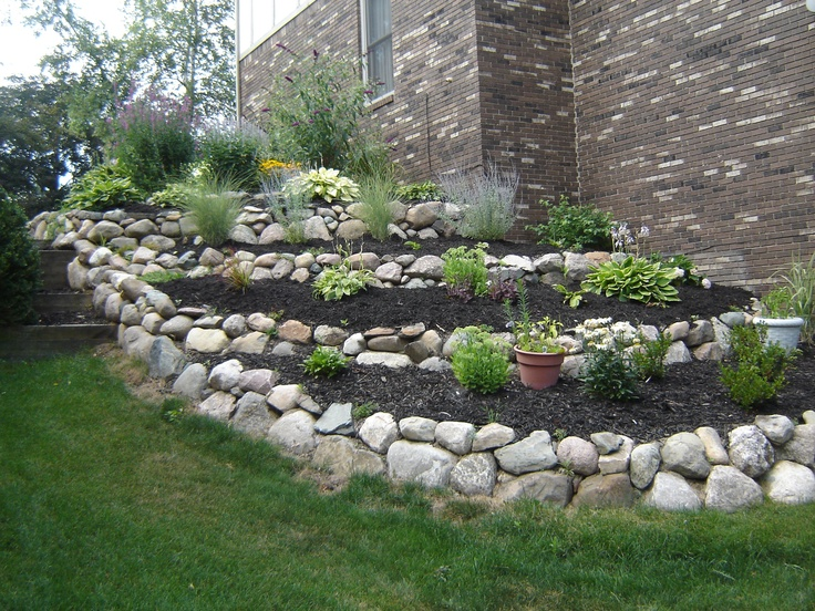 17 Best images about Retaining Walls on Pinterest | A hill ... on Tiered Yard Ideas  id=68580