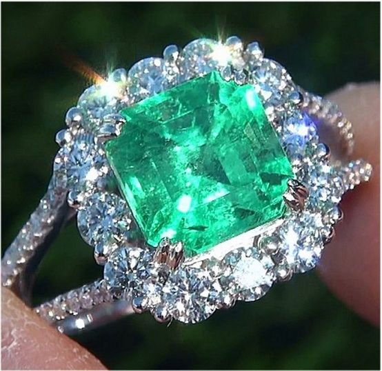 908 Best Images About EMERALDS And Diamonds On