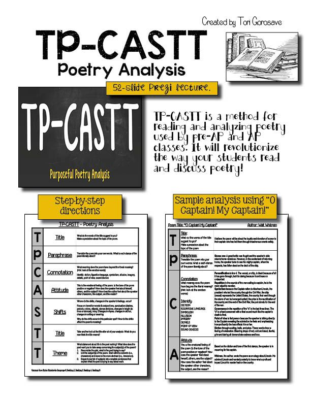 Images About Tpcastt And Poetry