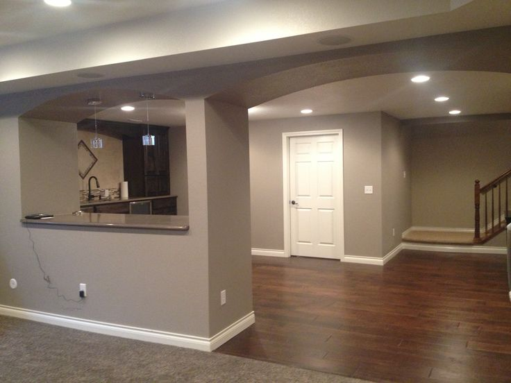 finished basement sherwin williams mega griege home on paint for basement walls id=59153
