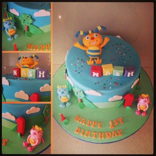 Henry Hugglemonster Cake 1st Birthday | Party Ideas henry ...