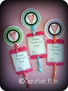 Pixie Stix Valentines Valentine Pinterest Valentines