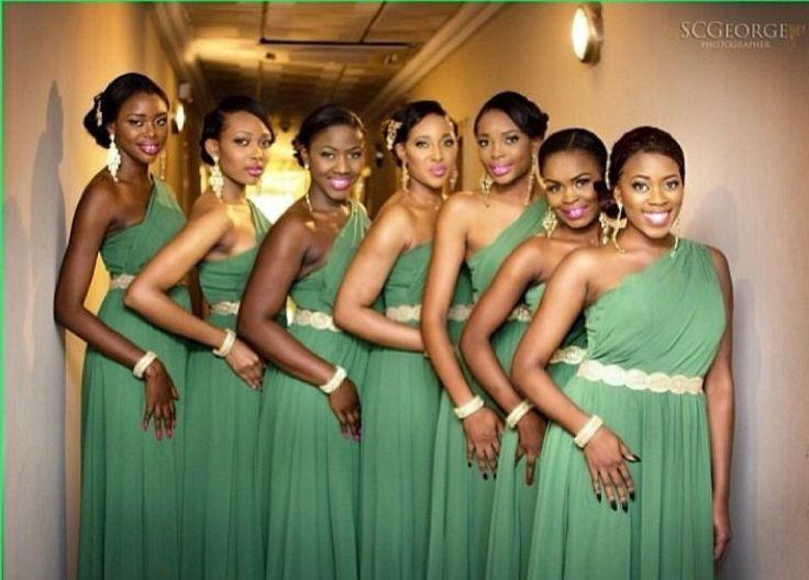 101 Best Nigerian Bridesmaids Dresses Images On Pinterest