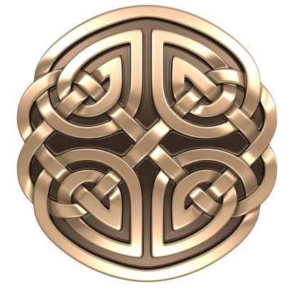 A Celtic shield signifies b