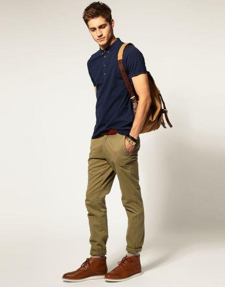 how to wear men's desert boots