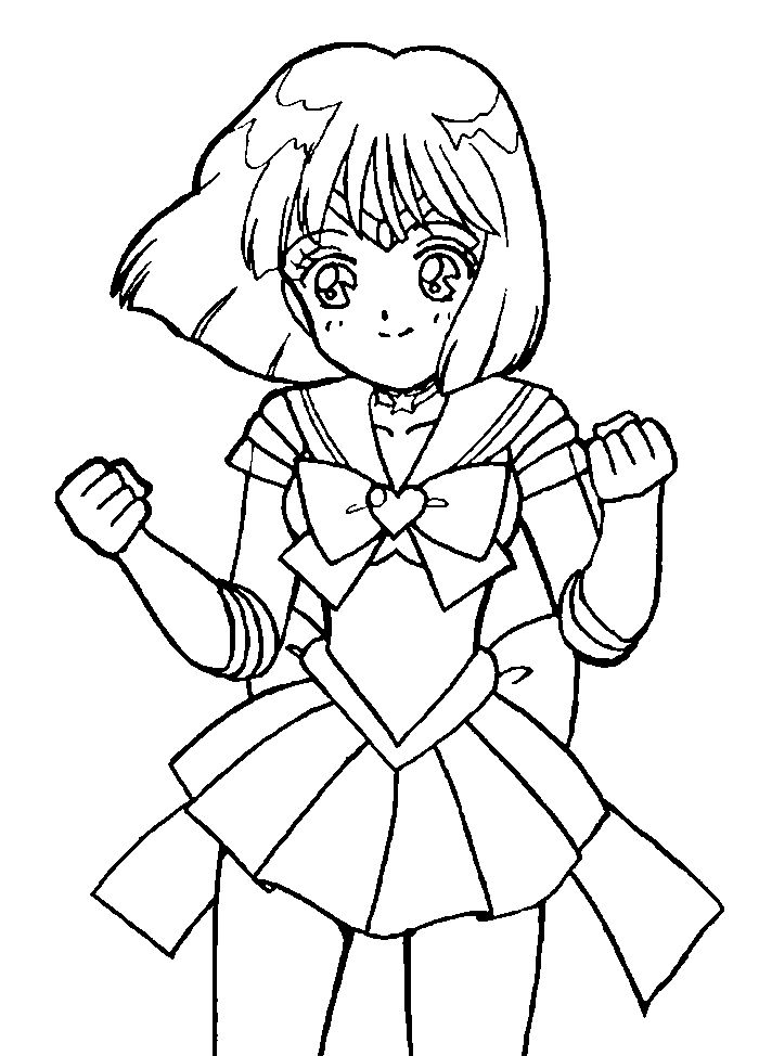 17 best images about sailor moon coloring pages on