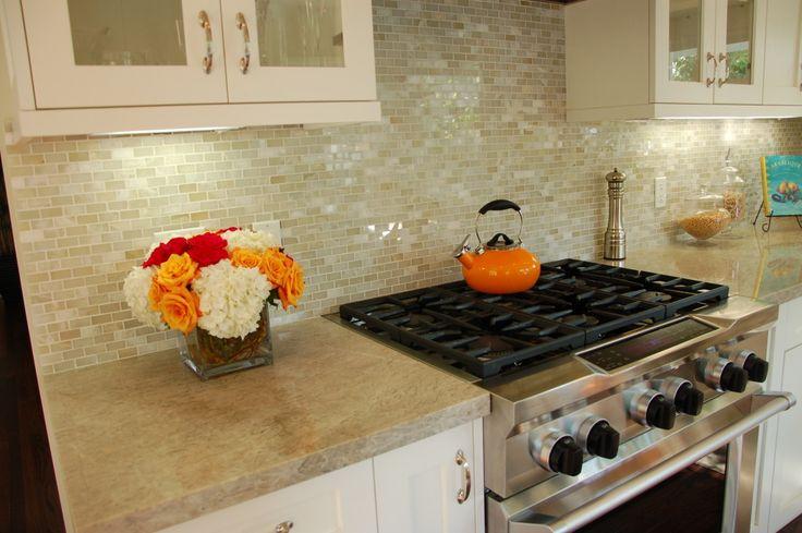 Madre Perla Quartzite Countertop Kitchen Remodel