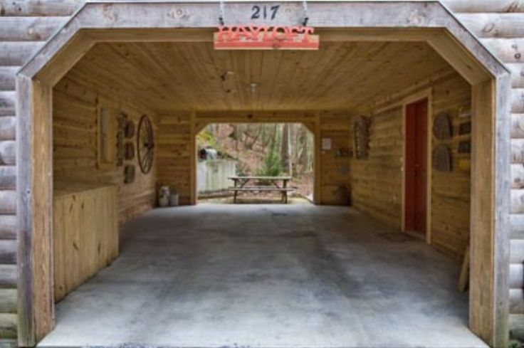 Rustic Carports Hayloft Carport For The Home