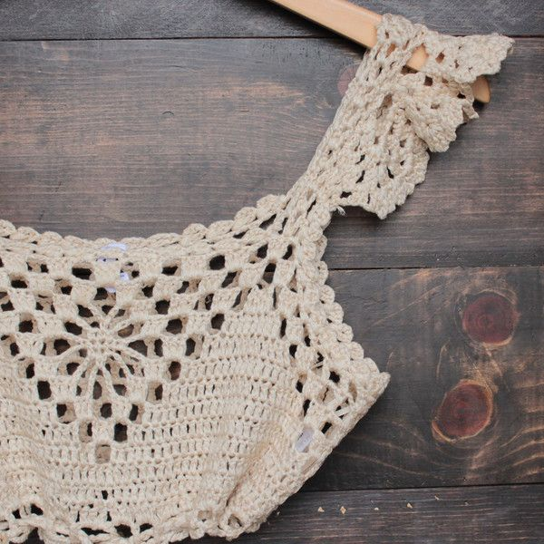 next morning crochet bralette – natural – shophearts