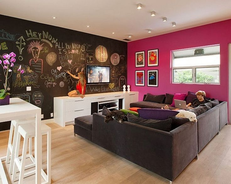 17 Best Ideas About Teen Game Rooms On Pinterest