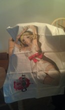 The Pillow Case from the Special Love is Over Limited Edition of Catherine for PS3