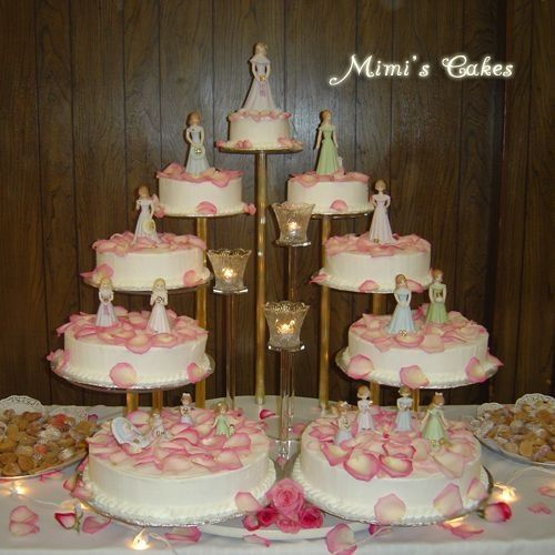 Quinceanera Cakes With Dolls Elizabeth Caldera La
